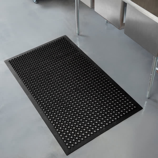 3\' x 5\' Beveled Edge Rubber Floor Mat in from Simplex Trading ...