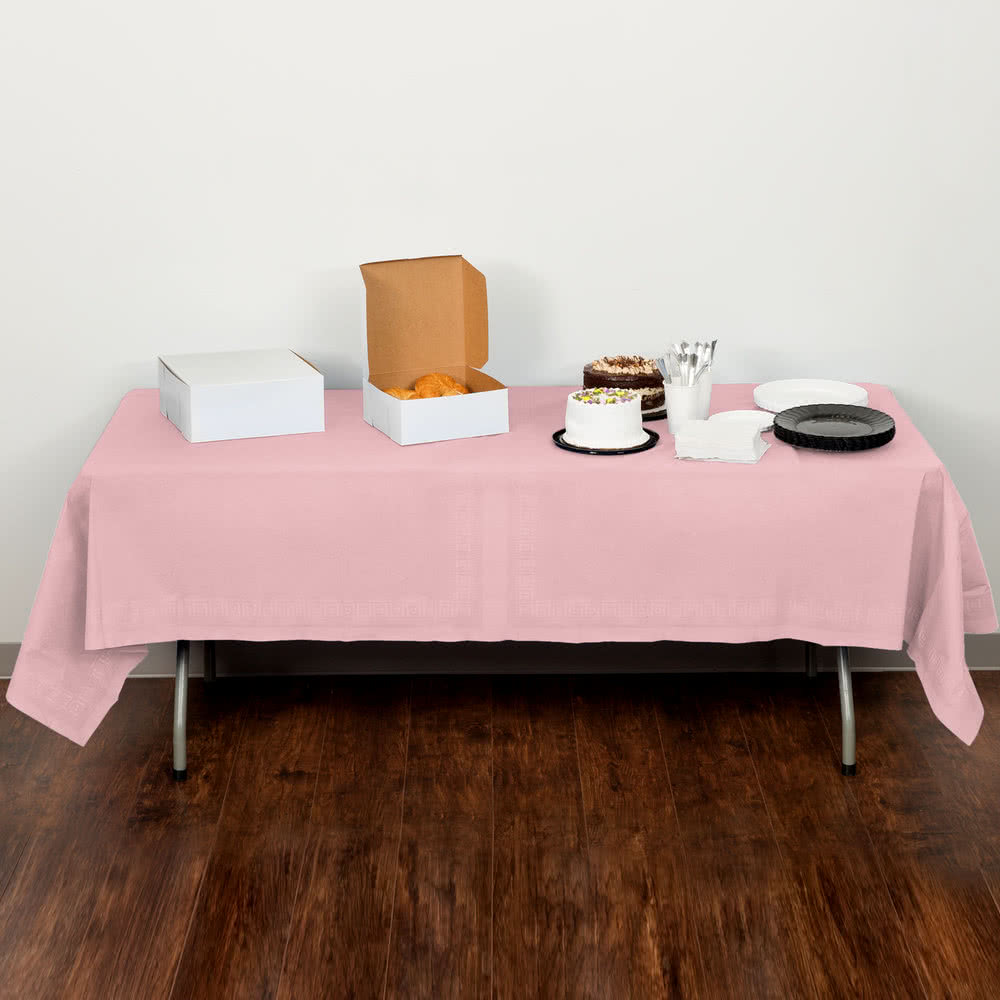 Terrific Candy Pink Table Cover 54 X 108 In From Simplex Trading Download Free Architecture Designs Rallybritishbridgeorg