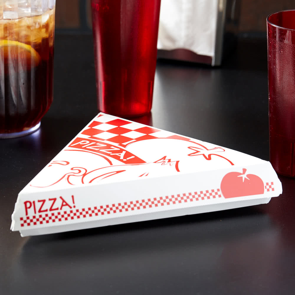 Clamshell Slice Pizza Box In Pizza Boxes From Simplex