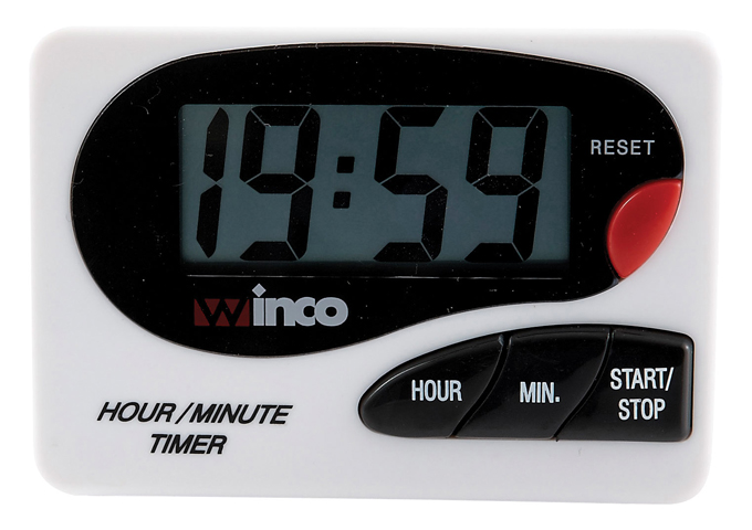 LCD Digital Timer With 20-Minute Stopper in Timer from Simplex
