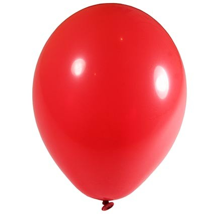 """12"""" Latex Balloons - Classic Red"""
