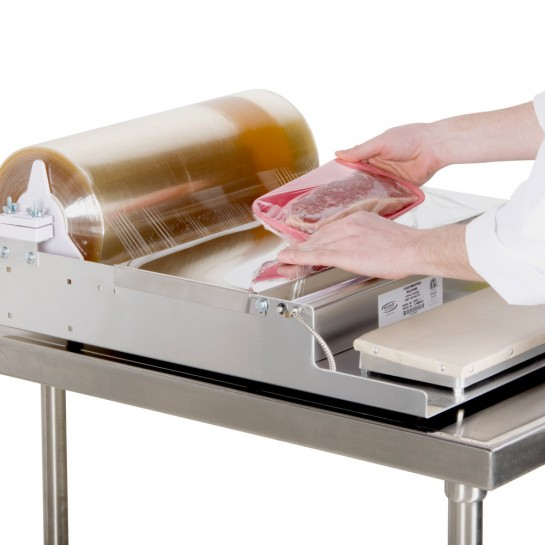 """12""""x 5000' Clear Meat Film"""
