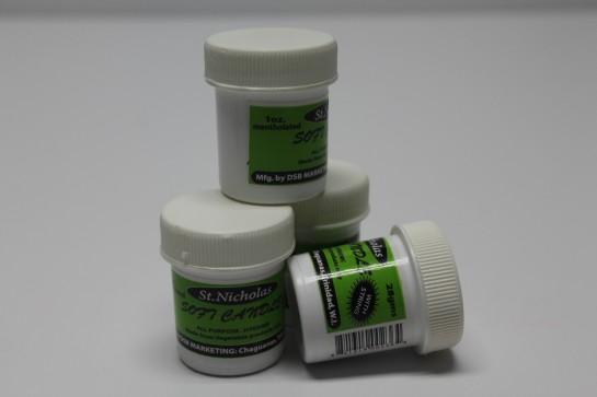 Soft Candle Jars - Menthol