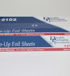 """12"""" x 10.75"""" Foil Sheets"""