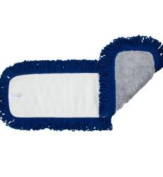 """24 X 5"""" Dust Mop Micro loop, Fringe Blue/Grey"""