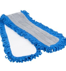 "36 X 5"" Dust Mop Micro Looped, Blue"