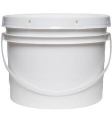 Plastic 4 Litre Bucket & Lid