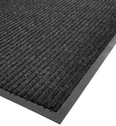 3' x 5' Charcoal Carpet Floor Mat