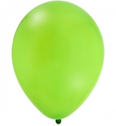 "12"" Latex Balloons - Fresh Lime"