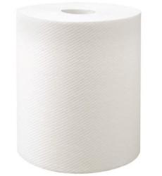 "Clea Premium 8"" X 925' White Hand Towel"