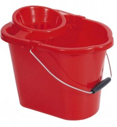 Mop Bucket, Asstd Colours With Sediment Screen