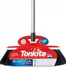Tonkita Indoor Broom W Adj Handle & Cleaning Comb