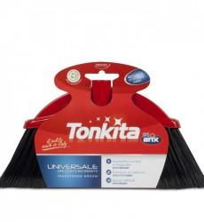 Tonkita Indoor/Outdoor Broom Head - Long Black Bristle