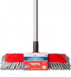 Tonkita Magnum Scrubbing Brush With Adj Steel Handle