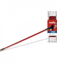 Tonkita Floor Wiper Set Microfiber Cloth, Adj Swivel Handle